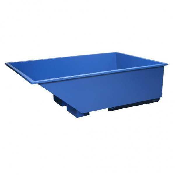 Tramag Kiepcontainer/Kiepbak 550 liter, Lage Uitvoering, Capaciteit 1000kg