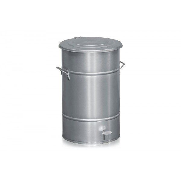 Gegalvaniseerde afvalbak, 70 liter