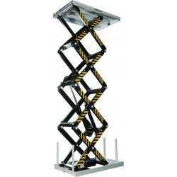Elektrische heftafel 1700x1000mm, LH=706-4210mm, cap800kg