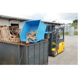Lage kiepcontainer GU 750, 750 l, 1000 kg