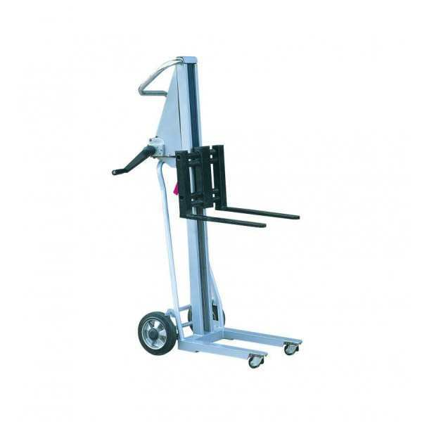Manuele stapelaar PM120, 120 kg, 1050 mm, lichtgewicht